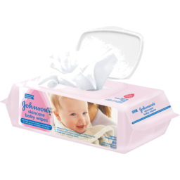 Photo of Johnsons Baby Skincare Wipes 80 Cloth Wipes