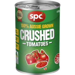 Photo of SPC Tomatoes Crushed 410g
