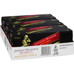 Photo of Johnnie Walker Red & Cola 6.5% 375ml 3x10 Pack