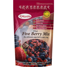 Photo of Morlife Mixed Berries 150gm