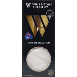 Photo of Whitestone 3 Cheese Platter 200g