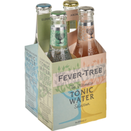 Photo of Fever Tree Tonic Variety 4*200ml