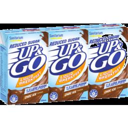 Photo of Up&Go Reduced Sugar Choc Ice 3x250ml