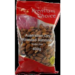 Photo of Premium Choice Almonds Australian 400g