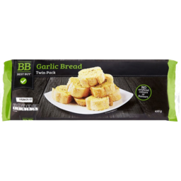 Photo of Best Buy Bread Garlic Twin Pack 450gm