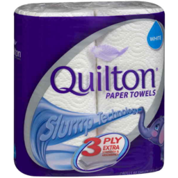 Photo of Quilton Paper Towel White 3ply 2pk