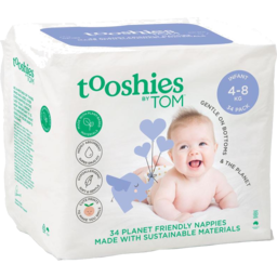 Photo of Tooshies Nappies Infant 34pk