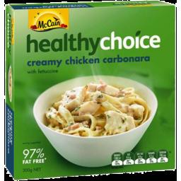 Photo of Mccain Healthy Choice Creamy Chicken Carbonara 300gm