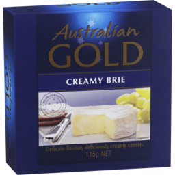 Photo of Australian Gold Cheese Long Life Brie (115g)