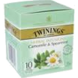 Photo of Twinings Teabags Camomile & Spearmint 10pk