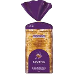 Photo of Norths Bread MultiGrain Toast 600g