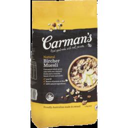 Photo of Carman's Natural Bircher Muesli 1.5kg