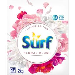 Photo of Surf Floral Blush Front & Top Loader Laundry Powder 2kg