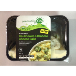 Photo of Community Co Bake Cauliflower & Broccoli Cheese Sauce 375gm