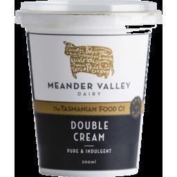 Photo of Meander Valley Double Cream 200ml