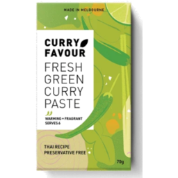 Photo of CURRY FAVOUR CURRY PASTE GREEN 70G