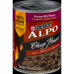 Photo of Purina Alpo Chop House Originals Ribeye Flavor Dog Food