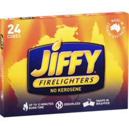 Photo of Jiffy Firelighters 24 Cubes