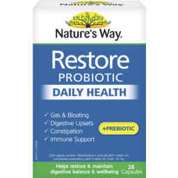 Photo of Nature's Way Restore Daily Probiotic Daily Health 28