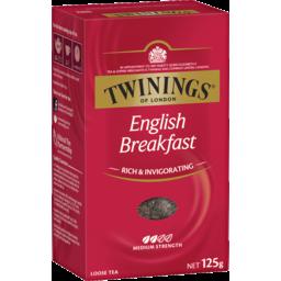 Photo of Twinings English Breakfast Tea 125g