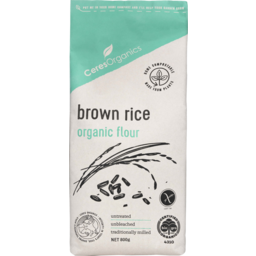 Photo of Ceres Organics Brown Rice Organic Flour 800g