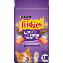 Photo of Purina Friskies Surfin' And Turfin' Favorites Pet Food 1.42kg