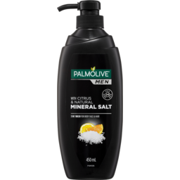 Photo of Palmolive Men 3 In 1 Wash For Body Face And Hair With Citrus & Natural Mineral Salt 450ml