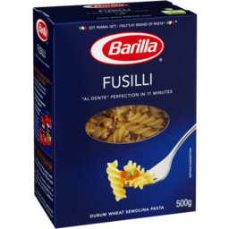 Photo of Barilla Fusilli Pasta 500gm