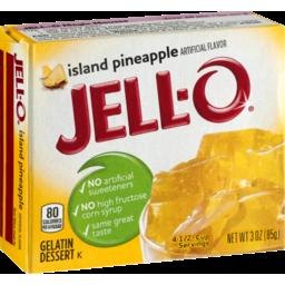 Photo of Jell-O Gelatin Dessert Island Pineapple