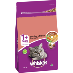 Photo of Whiskas Sardine Prwndry Cat Fo 1.8kg