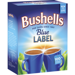 Photo of Bushells Blue Label 100 Tagged Bags 180g