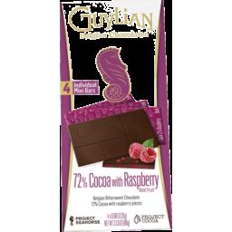 Photo of Guylian Bar 72% Dark Rasp 100gm
