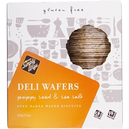 Photo of Simply Wize Deli Wafer Poppy Seed 150g