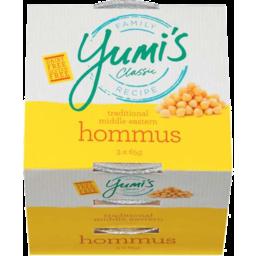Photo of Yumis Mini Hommus 195g 3x65gm