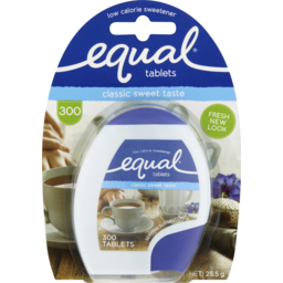 Photo of Equal Low Calorie Sweetener 300x