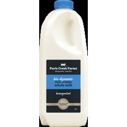 Photo of Paris Creek Biodynamic Milk Full Cream Whole 2lt