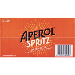 Photo of Aperol Spritz Bottle