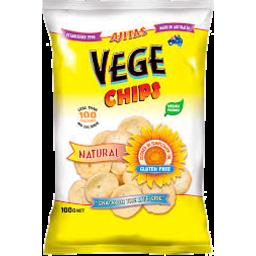 Photo of Ajitas Vege Chips Natural Gluten Free 100g