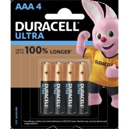 Photo of Duracell Ultra Aaa 4pk
