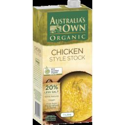 Photo of Australias Own Organic Chicken Style Stock 1l