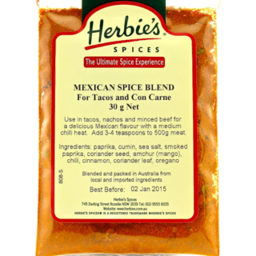 Photo of Mexican Spice Blend 30g