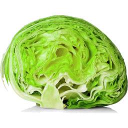 Photo of Iceberg Lettuce Half each