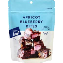 Photo of Loaf Apricot & Blueberry Mini Bites 120g