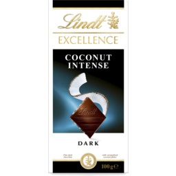 Photo of Lindt Excellence Coconut Intense 100g