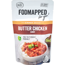 Photo of Woolworths Fodmapped Simmer Sauce Butter Chicken 200g