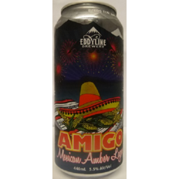 Photo of Eddyline Amigo Lager 440ml