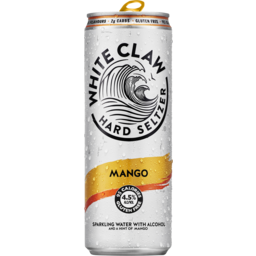 Photo of White Claw Mango Seltzer Cans