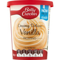 Photo of Betty Crocker Frosting Vanilla 400g