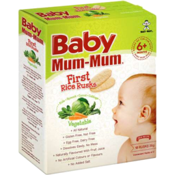 Photo of Baby Mum-Mum Vegetable Rice Rusks 36gm
