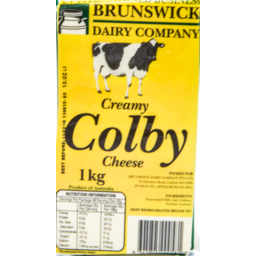 Photo of Brunswick Colby Cheese 1kg